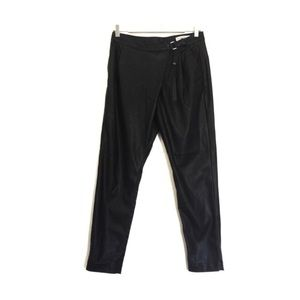 ✨nwt!✨blanknyc black leather crossover pants